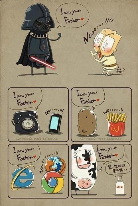 I'm your father!