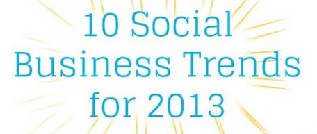 social media business 2013