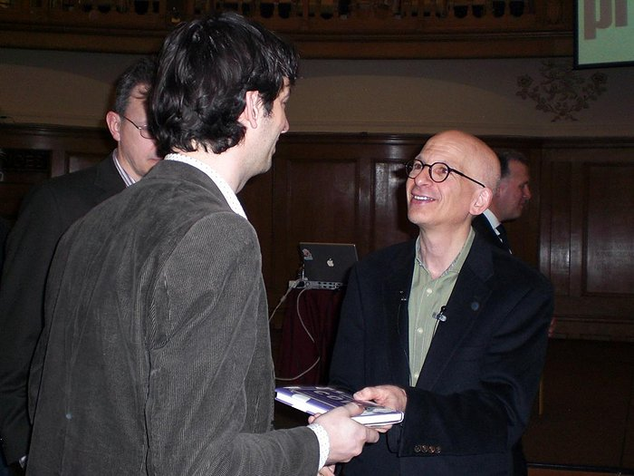 Mike Hendrixen & Seth Godin - London 2008