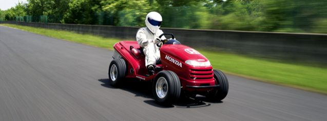 stig lawnmower