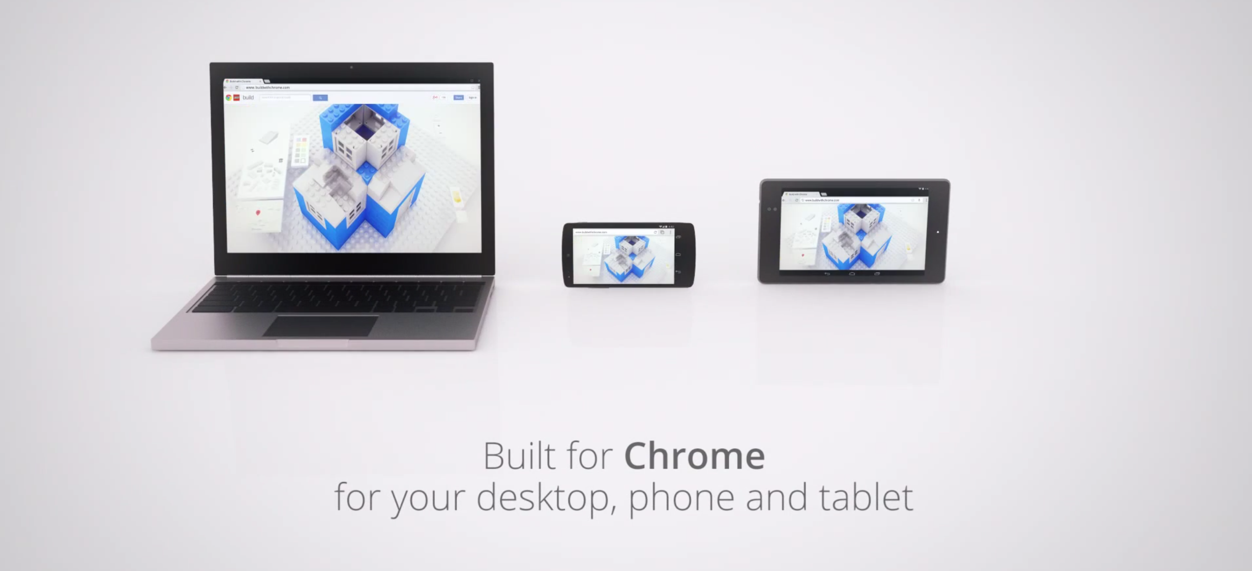 build it with chrome