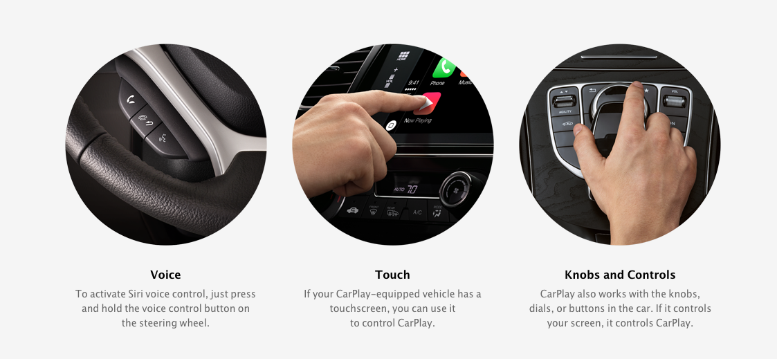carplay apple header