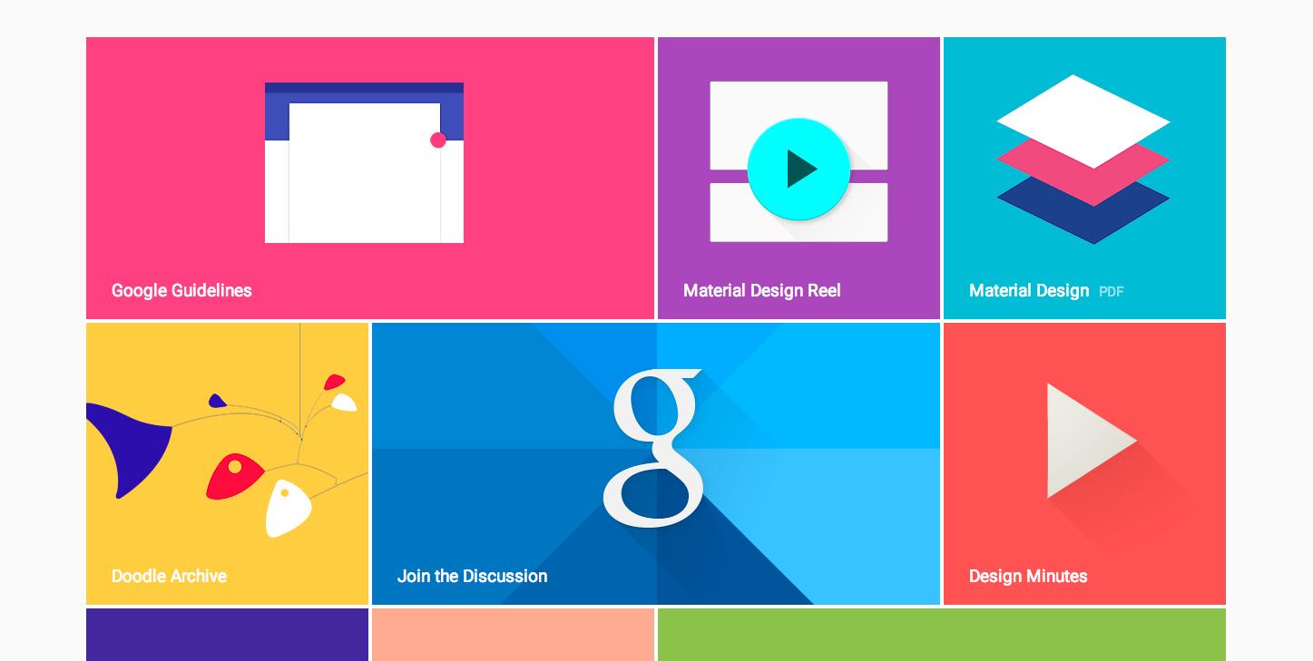 flat design google