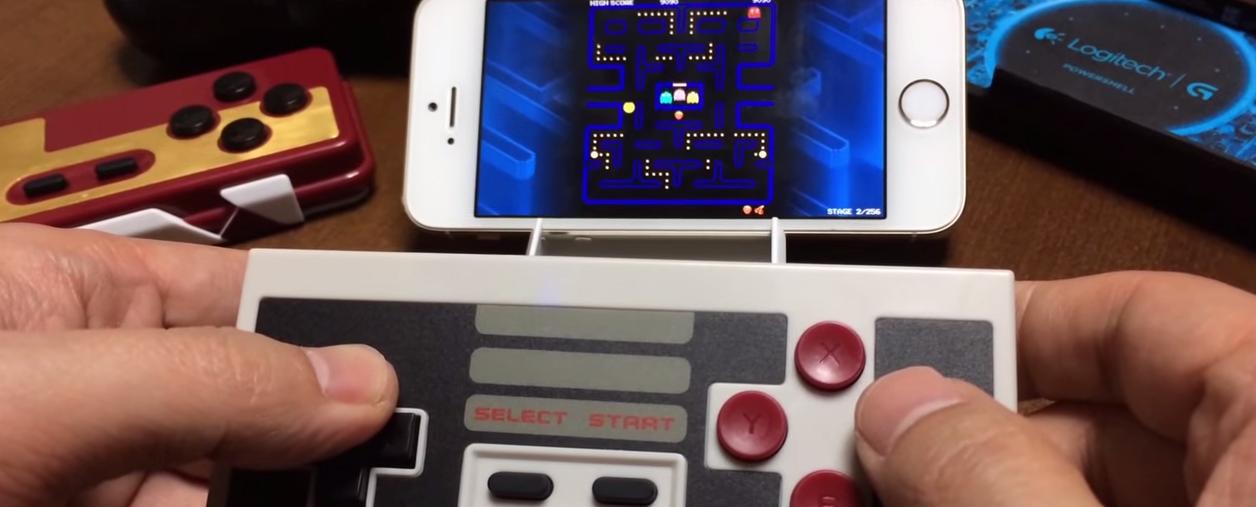 NES controller Ios7