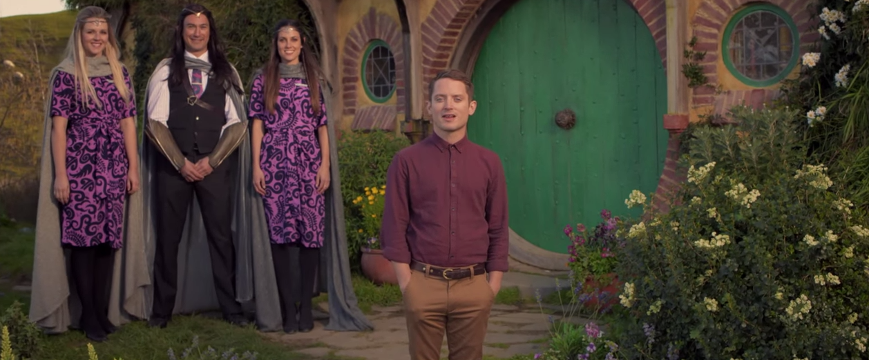 The Most Epic Safety Video Ever Made airnzhobbit