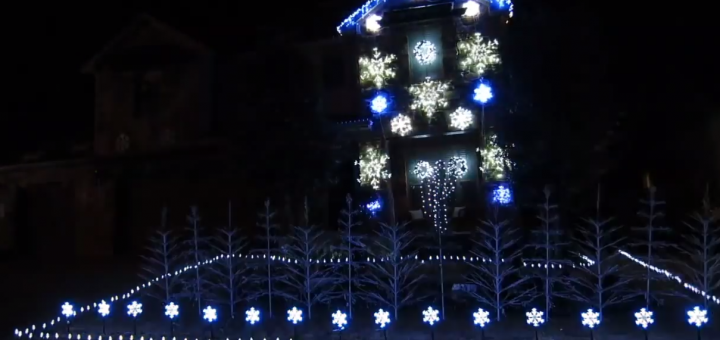 Frozen Xmas Lights