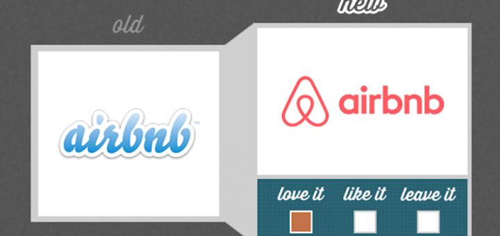 airbnb new logo old logo