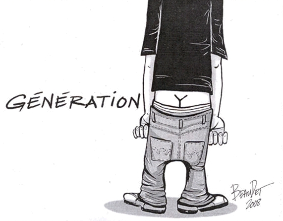 gen y cartoon