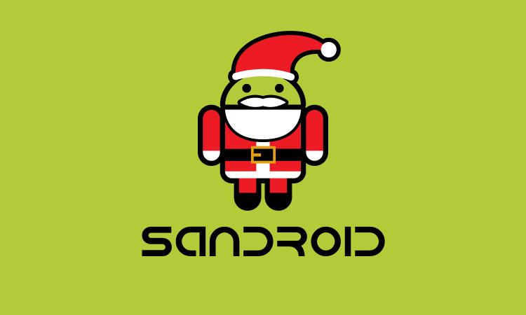 android-logos-santa