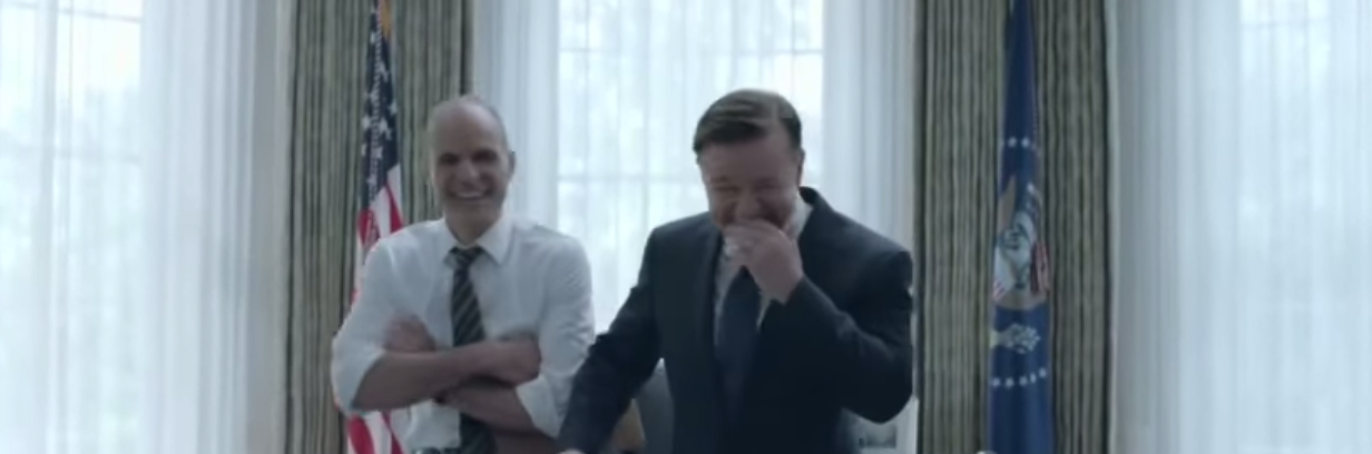 ricky gervais netflix commercial