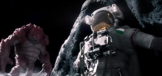 beans moon landing